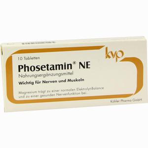 Abbildung von Phosetamin Ne Tabletten 10 Stück