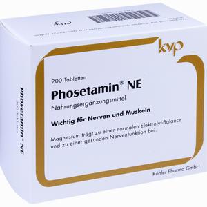 Abbildung von Phosetamin Ne Tabletten 200 Stück