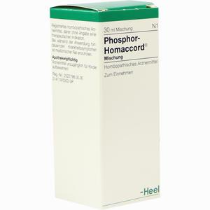 Abbildung von Phosphor Homaccord Tropfen 30 ml