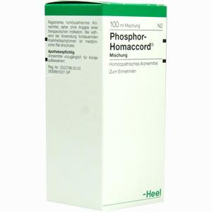 Abbildung von Phosphor Homaccord Tropfen 100 ml