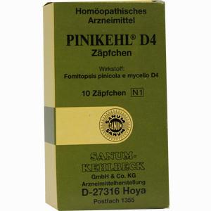 Abbildung von Pinikehl D4 Zäpfchen 10 Stück