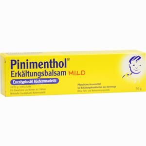 Abbildung von Pinimenthol Erkältungsbalsam Mild  50 g