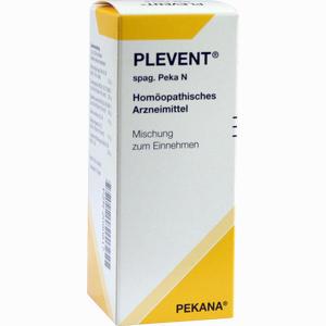Abbildung von Plevent Spag. Peka N Tropfen 50 ml