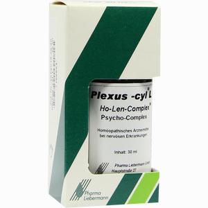 Abbildung von Plexus- Cyl L Ho- Len- Complex Psycho- Complex Tropfen 30 ml