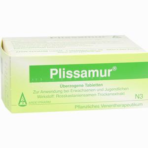 Abbildung von Plissamur Dragees 100 Stück