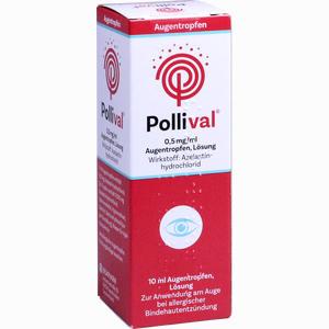 Abbildung von Pollival 0. 5mg/Ml Augentropfen Lösung 10 ml
