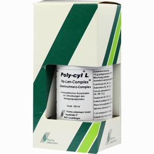 Abbildung von Poly- Cyl L Ho- Len- Complex Gelenkschmerz- Complex Tropfen 100 ml