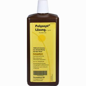 Abbildung von Polysept Loesung Lösung 1000 ml