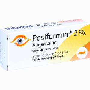 Abbildung von Posiformin 2% Augensalbe 5 g