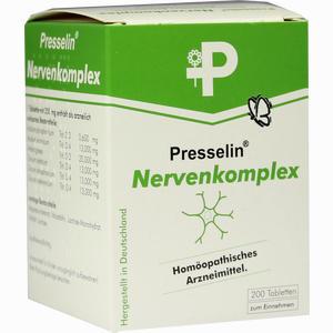 Abbildung von Presselin Nervenkomplex Tabletten 200 Stück