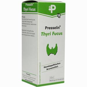 Abbildung von Presselin Thyri Fucus Tropfen 50 ml