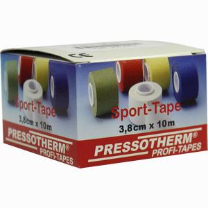 Abbildung von Pressotherm Sport- Tape Gelb 3.8cmx10m Verband 1 Stück