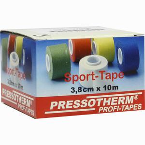 Abbildung von Pressotherm Sport- Tape Weiß 3.8cmx10m Verband 1 Stück