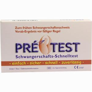 Abbildung von Pretest Schwangerschafts- Schnelltest  1 Stück