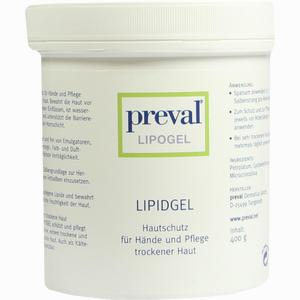 Abbildung von Preval Lipogel Gel 400 g