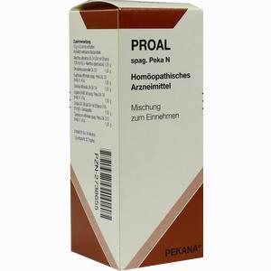 Abbildung von Proal Spag. Peka Tropfen 50 ml