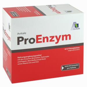 Abbildung von Proenzym Tabletten 810 Stück