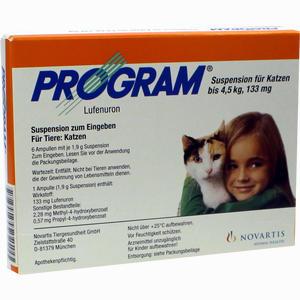Abbildung von Program Suspension für Katzen Bis 4.5kg /133mg Ampullen 6 Stück