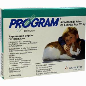 Abbildung von Program Suspension für Katzen Von 4.5kg- 9kg/266mg Ampullen 6 Stück