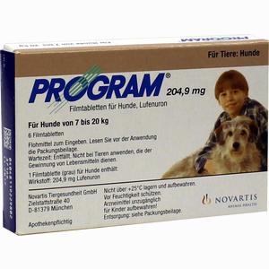 Abbildung von Program Tabletten für Hunde 204.9mg 7- 20kg Filmtabletten 6 Stück