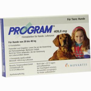 Abbildung von Program Tabletten für Hunde 409.8mg 20- 40kg Filmtabletten 6 Stück