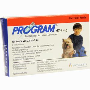 Abbildung von Program Tabletten für Hunde 67.8mg 2.5- 7kg Filmtabletten 6 Stück