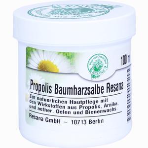 Abbildung von Propolis Baumharzsalbe Resana  100 ml