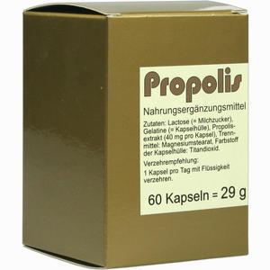 Abbildung von Propolis Kapseln 60 Stück