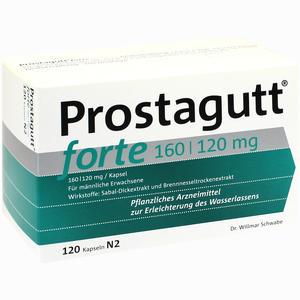 Abbildung von Prostagutt Forte 160/120mg Kapseln 120 Stück