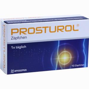 Abbildung von Prosturol Zäpfchen  10 Stück