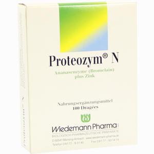 Abbildung von Proteozym N Dragees 100 Stück