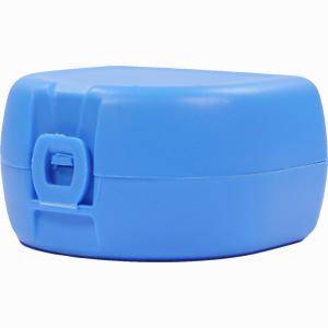 Abbildung von Prothesen- /Zahnspangenbox Universal Hellblau 1 Stück