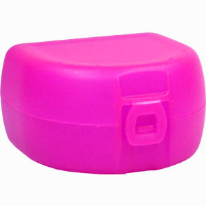Abbildung von Prothesen/Zahnspangenbox Universal Pink 1 Stück