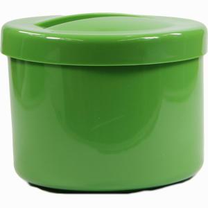 Abbildung von Prothesenbehälter Grün mit Deckel und Einsatz 1 Stück