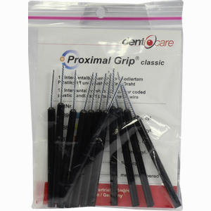 Abbildung von Proximal- Grip Xx- Fein Schwarz Interdentalbürste Zahnbürste 12 Stück