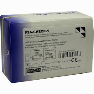 Abbildung von Psa- Check- 1 Test 5 Stück