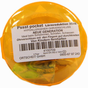 Abbildung von Pssst Pocket Ohrverschluss 4 Stück