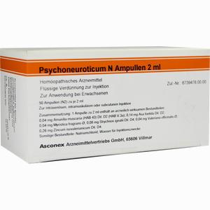 Abbildung von Psychoneuroticum N Ampulle Ampullen 50 x 2 ml