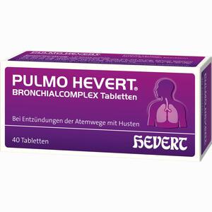 Abbildung von Pulmo Hevert Bronchialcomplex Tabletten  40 Stück