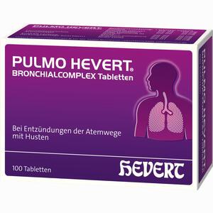 Abbildung von Pulmo Hevert Bronchialcomplex Tabletten  100 Stück