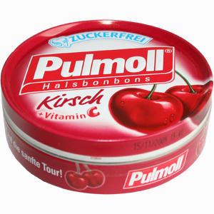 Abbildung von Pulmoll Halsbonbons Kirsch + Vitamin C zuckerfrei  50 g