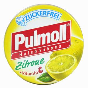Abbildung von Pulmoll Halsbonbons Zitrone zuckerfrei  20 g