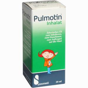 Abbildung von Pulmotin Inhalat 20 ml