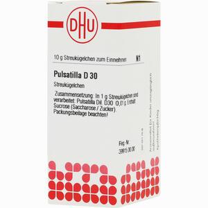 Abbildung von Pulsatilla D30 Globuli 10 g