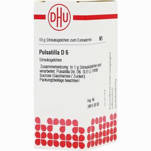 Abbildung von Pulsatilla D6 Globuli 10 g