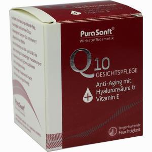 Abbildung von Purasanft Q10 Anti- Aging Gesichtspflege Creme 50 ml