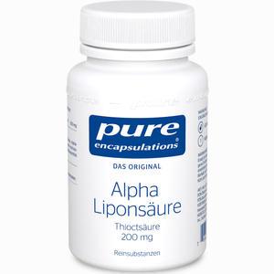 Abbildung von Pure Encapsulations Alpha Liponsäure Kapseln 60 Stück