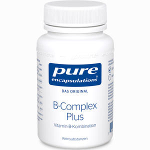 Abbildung von Pure Encapsulations B- Complex Plus Kapseln 60 Stück