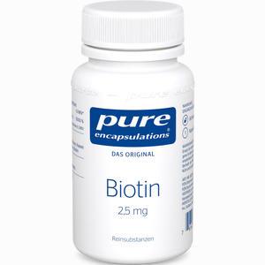 Abbildung von Pure Encapsulations Biotin 2.5mg Kapseln 60 Stück