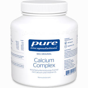 Abbildung von Pure Encapsulations Calcium Complex Kapseln 180 Stück